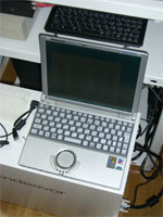 実験用PC(Let's note R2)