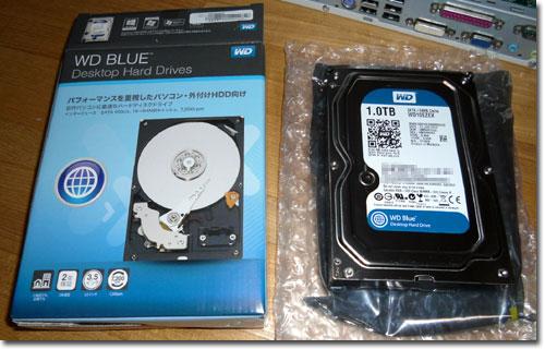 Western Digital社のBlue 1TB