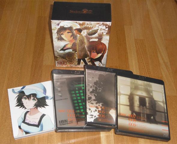 シュタインズ・ゲート Blu-ray BOX