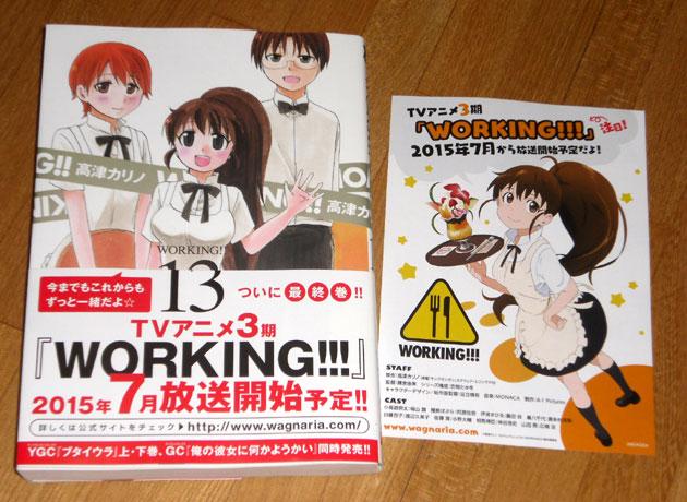 WORKING!! 第13巻(完結!)