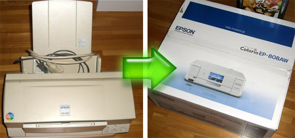 epson プリンター パソコン 接続